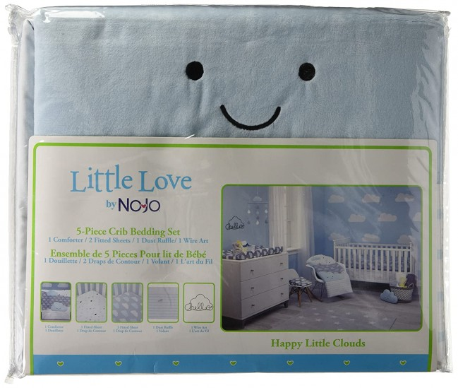 Happy Little Clouds 5 Pce Crib Set