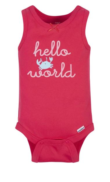 Vests 4pk Mermaid