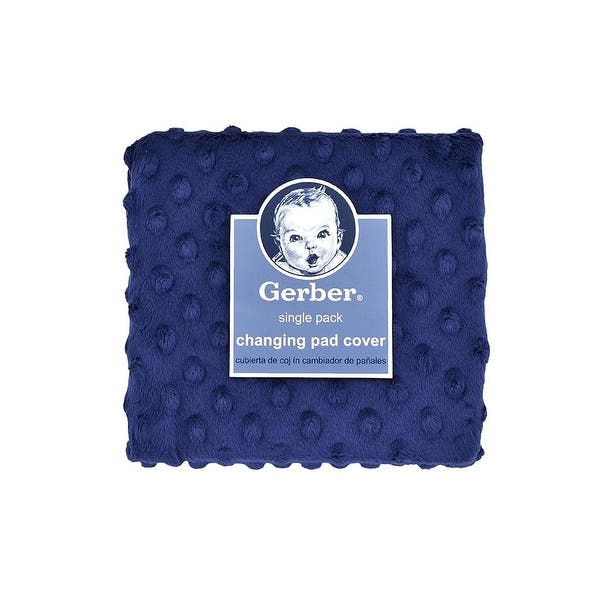 Popcorn Changing Pad Cover Navy