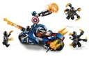Lego Super Heroes Captain America Outriders Attack