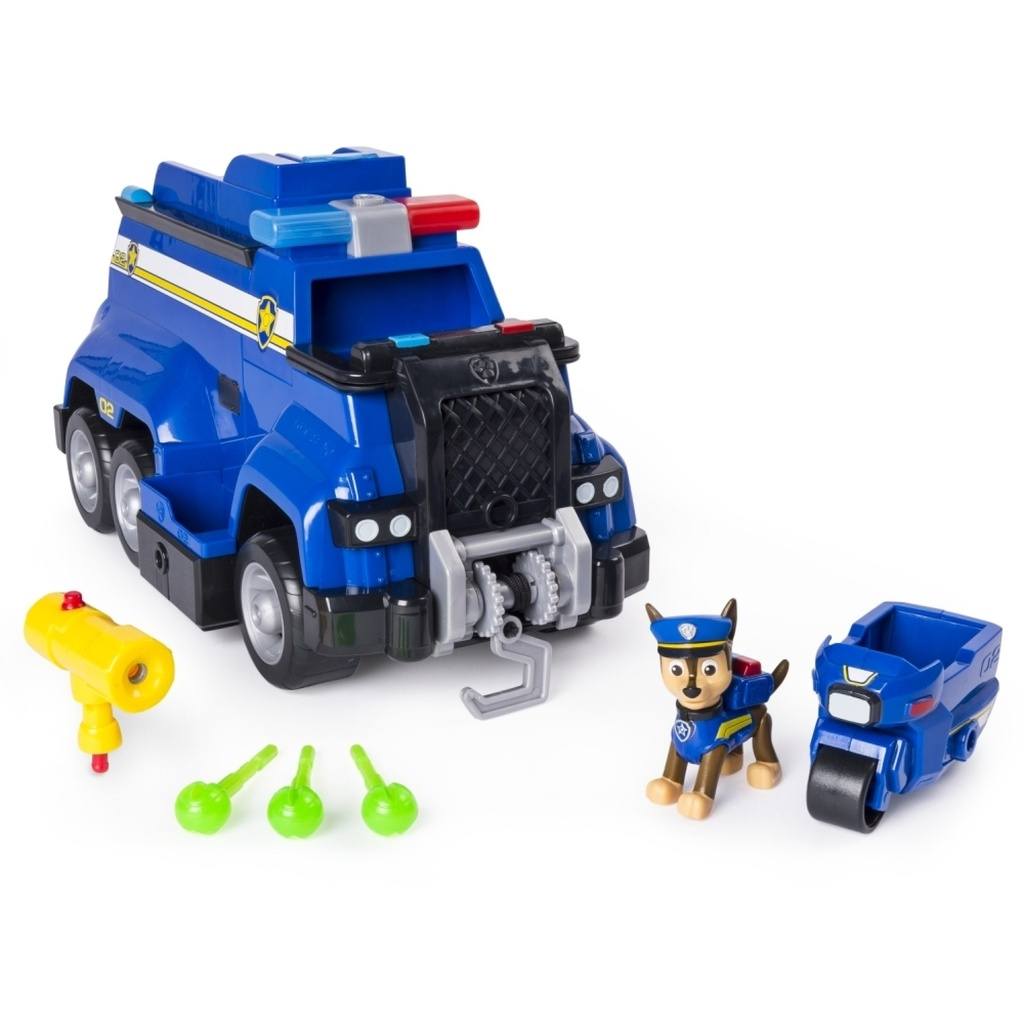Paw Patrol Rescue Vehicle Chase