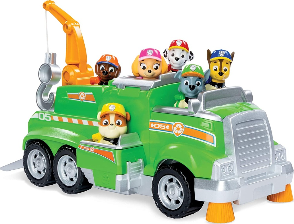 Paw Patrol Rescue Vehicle Rocky