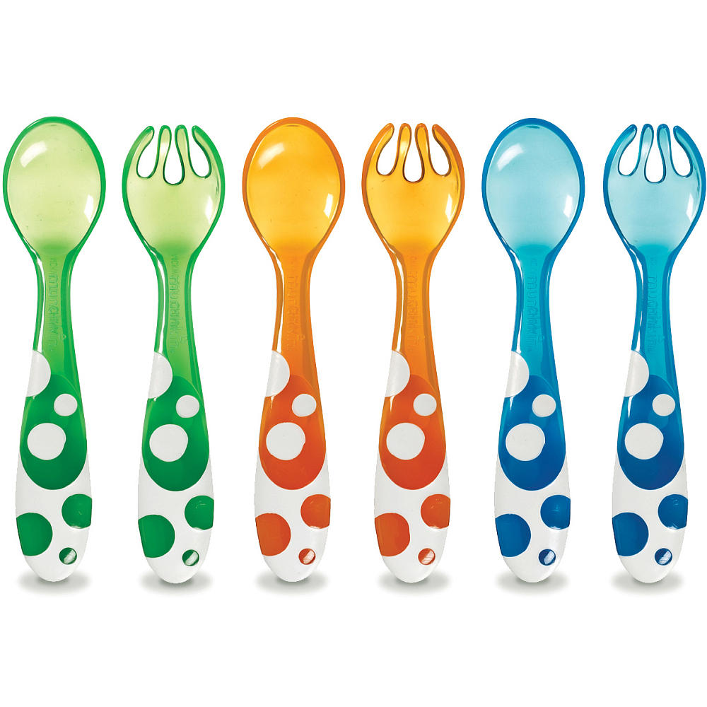 Multi Forks and Spoons 6Pk