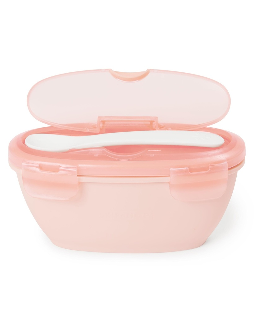 Easy Serve Travel Bowl Coral