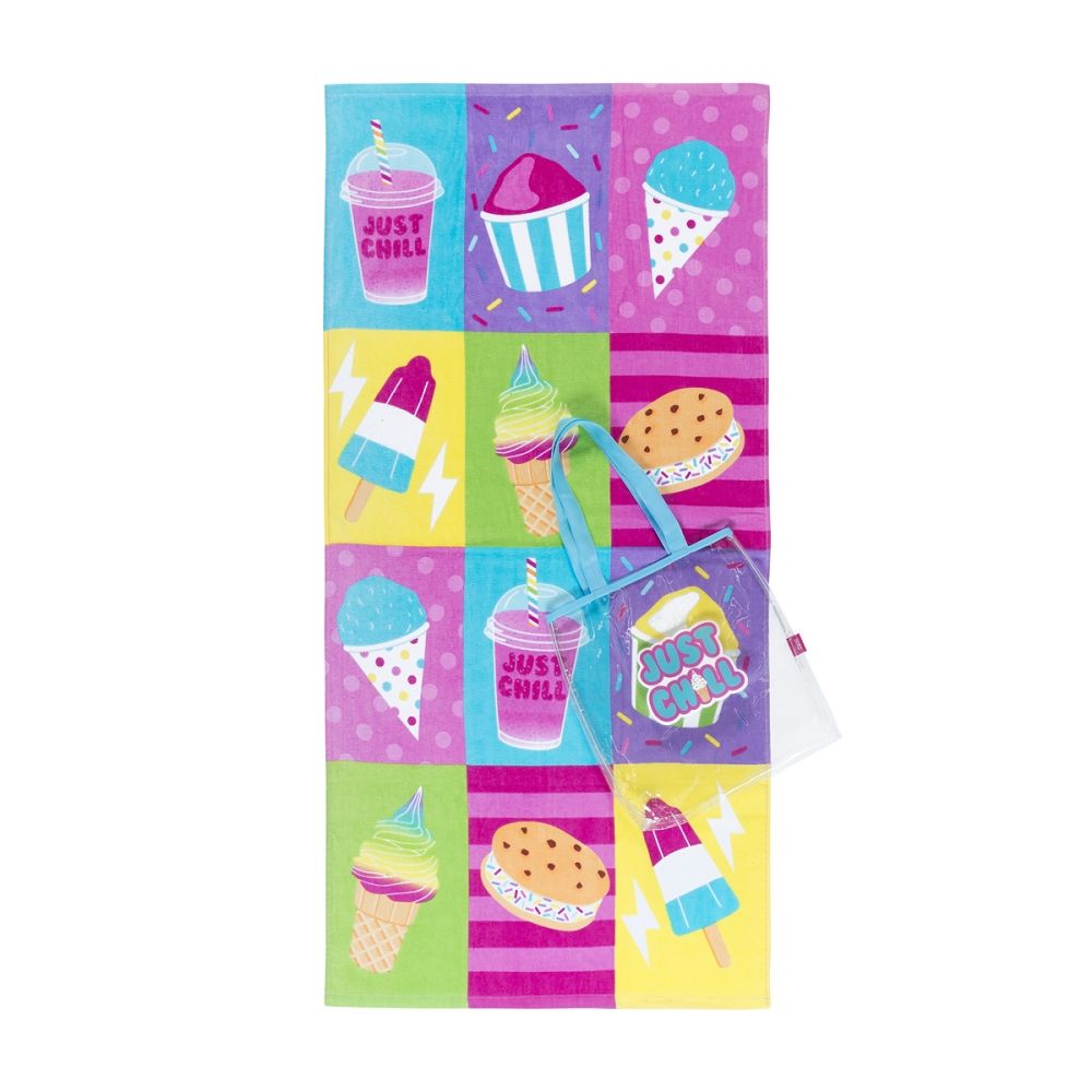 Chill Towel & Tote Set
