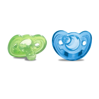 Gumdrop NB Pacifier 2pk Boy