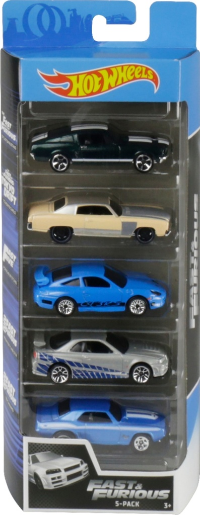 Hot Wheels Fast & Furious 5 Pack