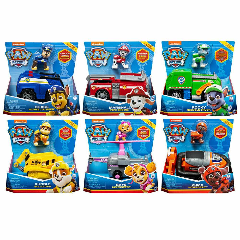 Paw Patrol Basic Vehicle Asst.