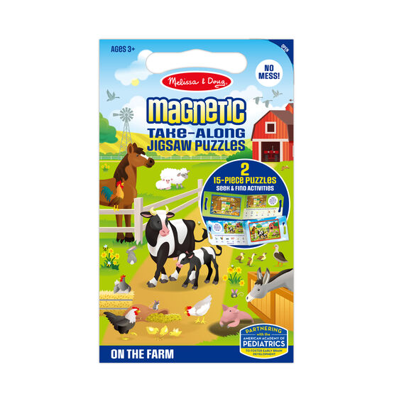 Take Along Magnetic Jigsaw Puzzles - On the Farm