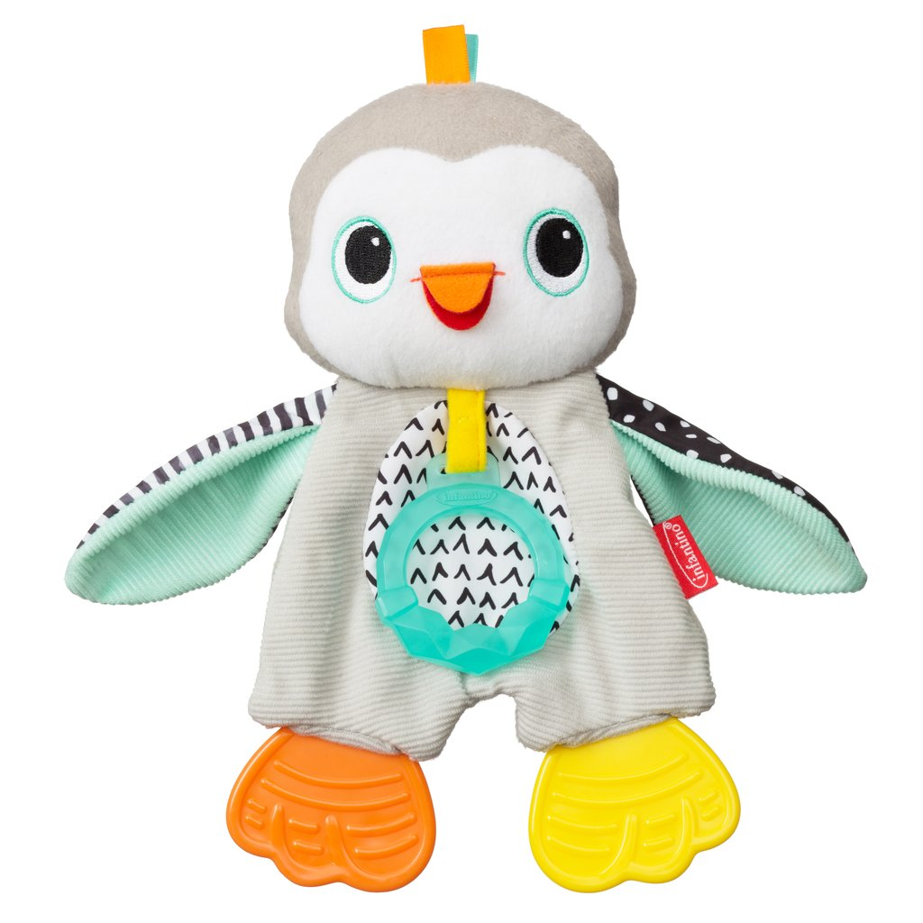 Cuddly Teether Penguin
