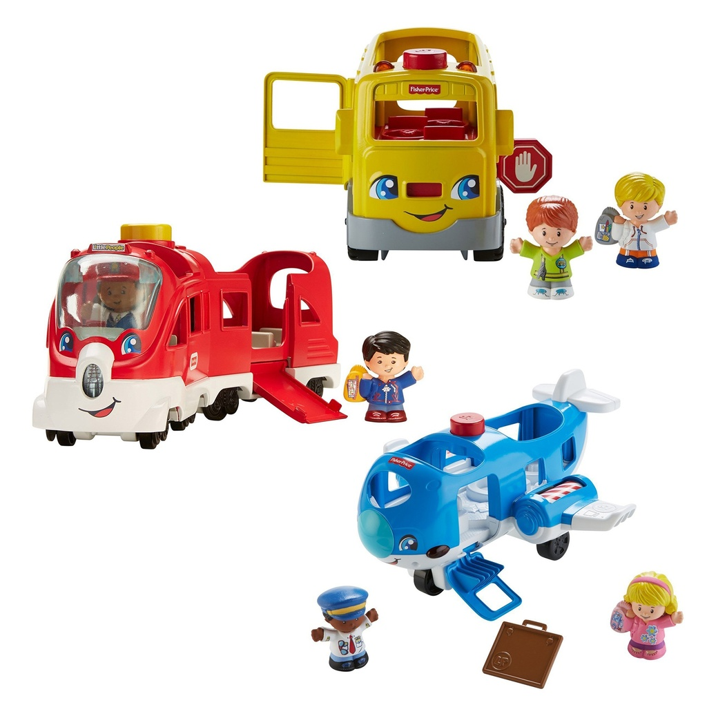 Little People Large Vehicles Playset