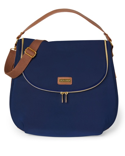 [157886-BB] Curve Diaper Bag Navy