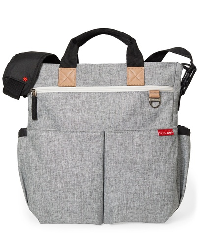[149859-BB] Duo Grey Diaper Bag