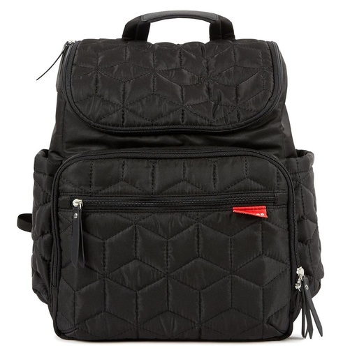 [143592-BB] Forma Diaper Backpack Black