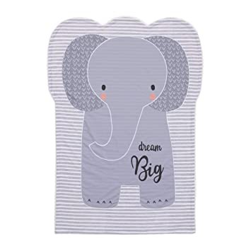 [159017-BB] Emma Elephant Shaped Baby Blanket