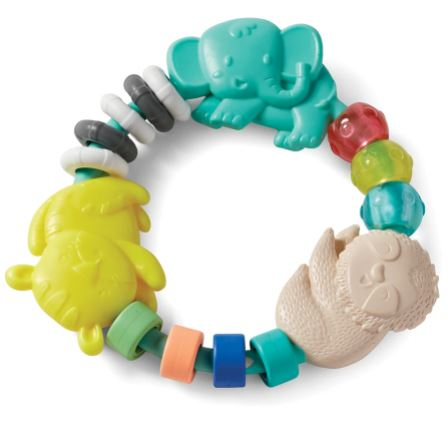 [158919-BB] Busy Beads Rattle & Teether