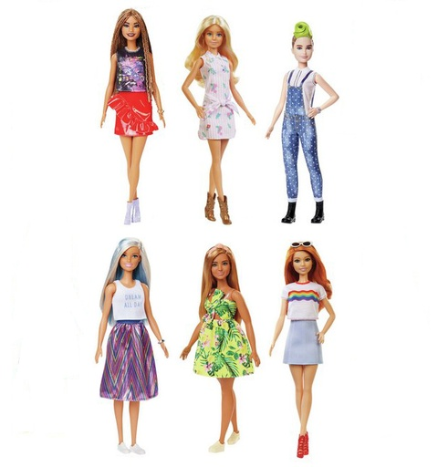 [157326-BB] Barbie Fashionistas Asst