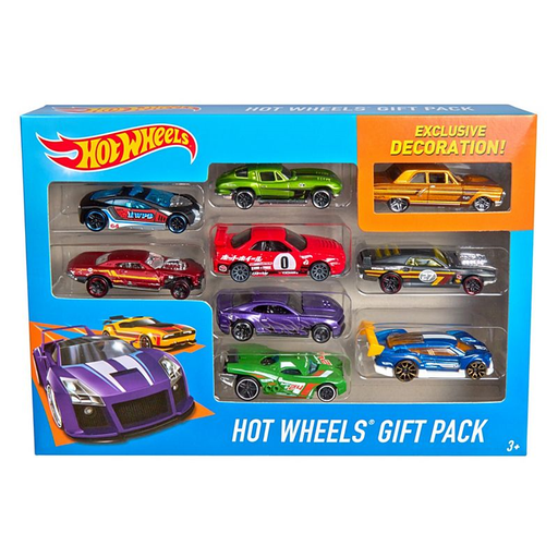 [144571-BB] Hot Wheels 9pk