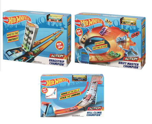 [157360-BB] Hot Wheels Action Assorted